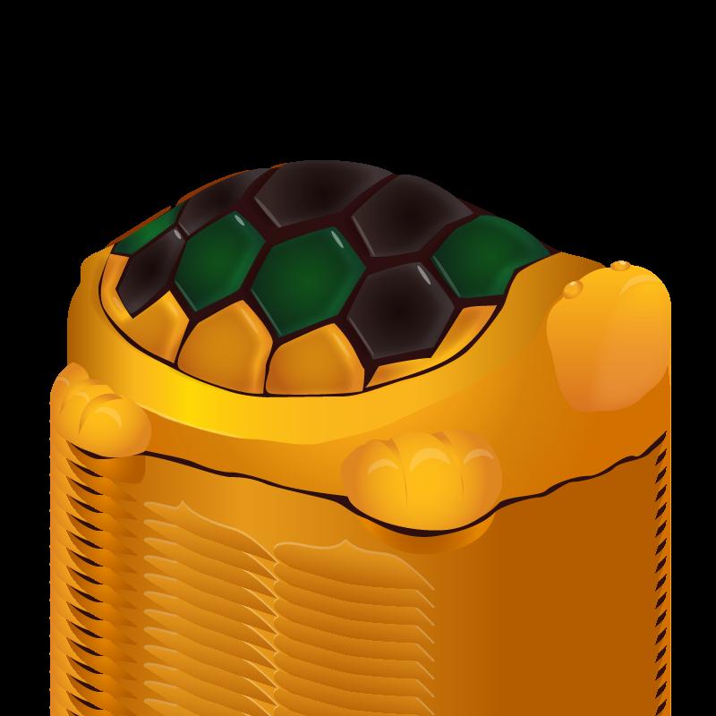 交趾 大亀